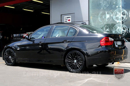 18x8.0 BM590 Black on BMW E90