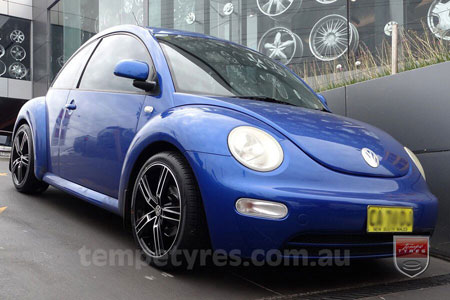 18x8.0 Lenso Eurostyle 6 ES6 on VW BEETLE