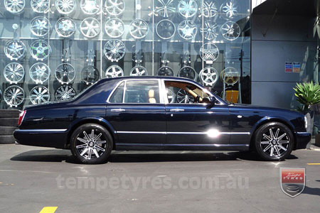 20x8.5 20x9.5 Lenso Conquista 8 CQ8 on BENTLEY ARNAGE