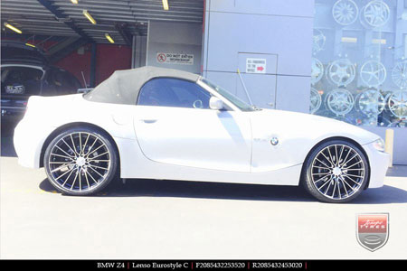 20x8.5 Lenso Eurostyle C ESC on BMW Z4