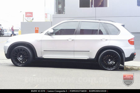 20x8.5 20x9.5 Lenso Conquista 5 SB CQ5 on BMW X5
