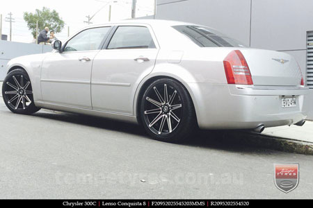 20x8.5 20x9.5 Lenso Conquista 8 CQ8 on CHRYSLER 300C