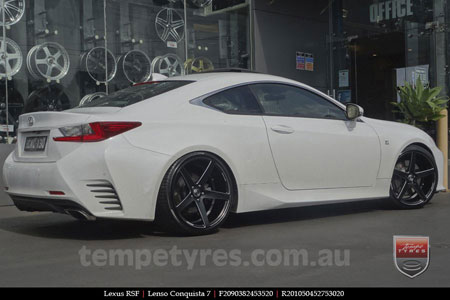 20x9.0 20x10.5 Lenso Conquista 7 MKS CQ7 on LEXUS RSF