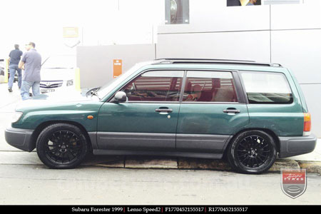 17x7.0 Lenso Speed 2 SP2 on SUBARU FORESTER