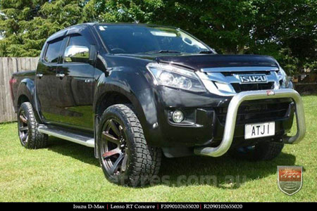 20x9.0 Lenso RT-Concave on ISUZU D-MAX