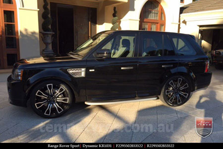 22x9.5 Dynamic on RANGE ROVER SPORT