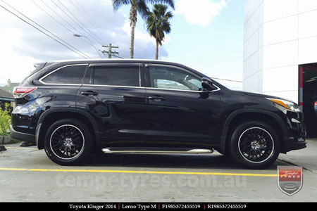 19x8.5 Lenso Type-M MBJ on TOYOTA KLUGER