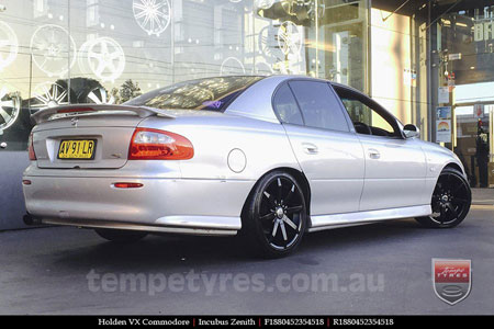 18x8.0 Incubus Zenith - FB on HOLDEN VX COMMODORE
