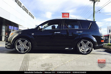 20x8.5 Menzari Z12 on MITSUBISHI OUTLANDER