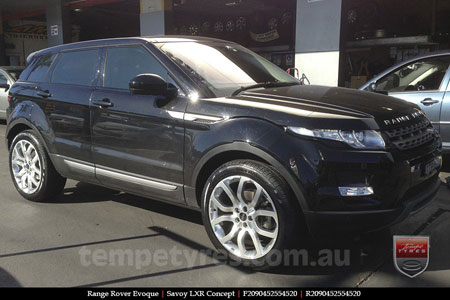 20x9.0 LRX Concept on RANGE ROVER EVOQUE