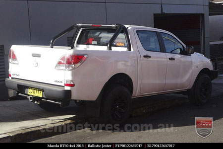 17x9.0 Ballistic Jester on MAZDA BT50