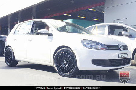 17x7.0 Lenso Speed 2 SP2 on VW GOLF