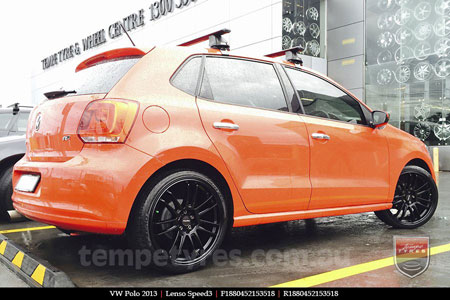 18x8.0 Lenso Speed 3 SP3 on VW POLO