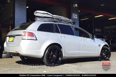 20x9.0 20x10 Lenso Conquista 2 SB CQ2 on HOLDEN VE