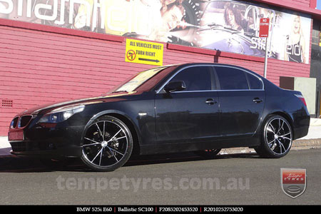20x8.5 20x10 Sothis SC100 BFM on BMW 5 SERIES E60