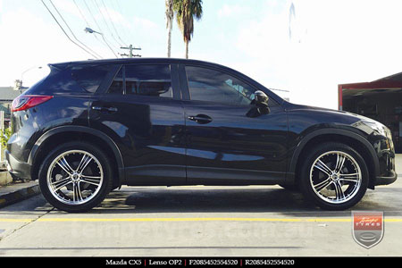 20x8.5 20x9.5 Lenso OP2 on MAZDA CX5