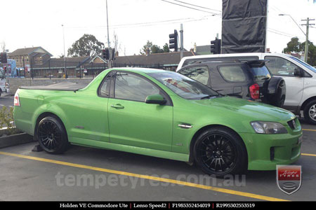 19x8.5 19x9.5 Lenso Speed 2 SP2 on HOLDEN COMMODORE VE