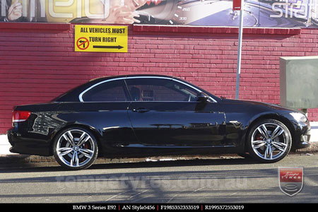 19x8.5 19x9.5 AN BM5456 on BMW 3 SERIES
