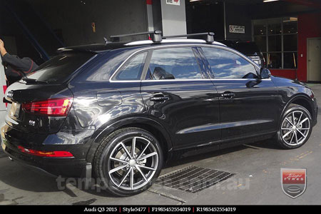 19x8.5 Style5477 Polished Grey on AUDI Q3