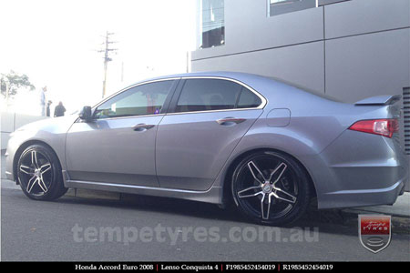 19x8.5 Lenso Conquista 4 CQ4 on HONDA ACCORD EURO