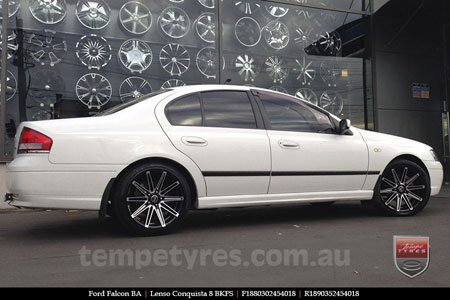 18x8.0 18x9.0 Lenso Conquista 8 CQ8 on FORD BA FALCON