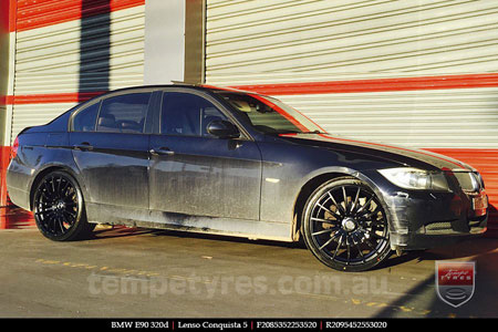 20x8.5 20x9.5 Lenso Conquista 5 SB CQ5 on BMW E90
