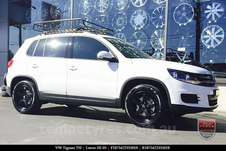 18x7.5 Lenso SE-05 on VW TIGUAN