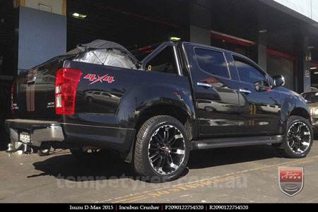 20x9.0 Incubus Crusher on ISUZU D-MAX