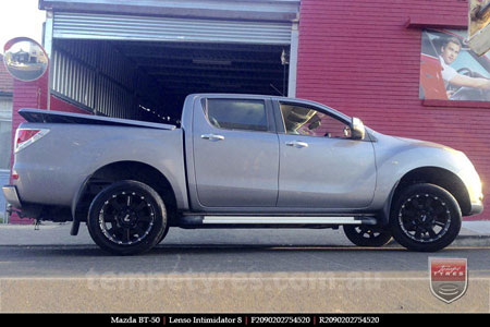 20x9.5 Lenso Intimidator 8 IM8 on MAZDA BT50