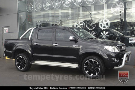 20x9.0 Incubus Crusher on TOYOTA HILUX SR5