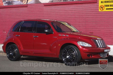 18x8.0 Lenso Eurostyle D ESD on CHRYSLER PT CRUISER