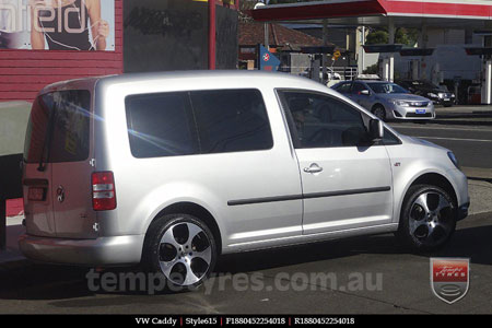 18x8.0 Style615 on VW CADDY