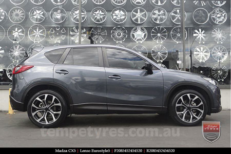 20x8.5 Lenso Eurostyle 5 ES5 on MAZDA CX5