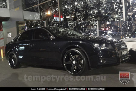 20x9.0 20x10.5 Lenso Conquista 7 MKS CQ7 on AUDI A4