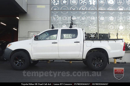 17x8.0 Lenso RT-Concave on TOYOTA HILUX SR