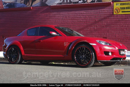 19x8.5 Lenso Type-M MBRG on MAZDA RX8
