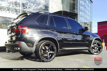 20x9.0 20x10.5 Lenso Conquista 7 MKS CQ7 on BMW X5
