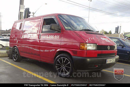 17x7.5 Lenso Eurostyle E ESE on VW TRANSPORTER T4