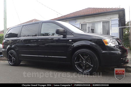 18x8.0 18x9.0 Lenso Conquista 7 SB CQ7 on CHRYSLER GRAND VOYAGER