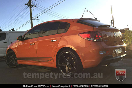 20x9.0 20x10.5 Lenso Conquista 7 MKS CQ7 on HOLDEN CRUZE SRIV