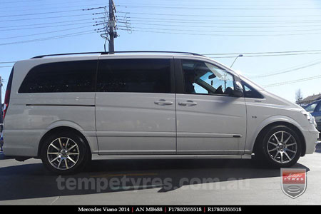 17x8.0 MB688 on MERCEDES VIANO