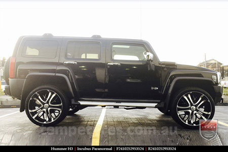 24x10 Incubus Paranormal on HUMMER H3