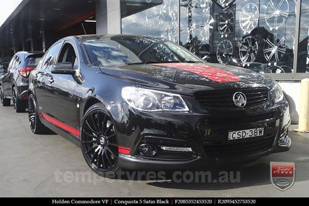 20x8.5 20x9.5 Lenso Conquista 5 SB CQ5 on HOLDEN COMMODORE