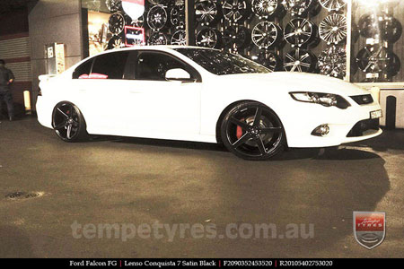 20x9.0 20x10.5 Lenso Conquista 7 MKS CQ7 on FORD FALCON FG