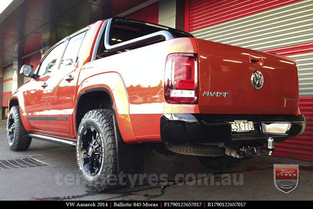 17x9.0 Ballistic Morax on VW AMAROK