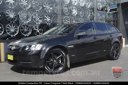 18x8.0 18x9.0 Lenso Conquista 7 SB CQ7 on HOLDEN COMMODORE VE