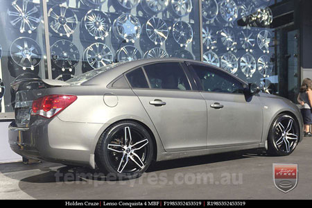 19x8.5 Lenso Conquista 4 CQ4 on HOLDEN CRUZE