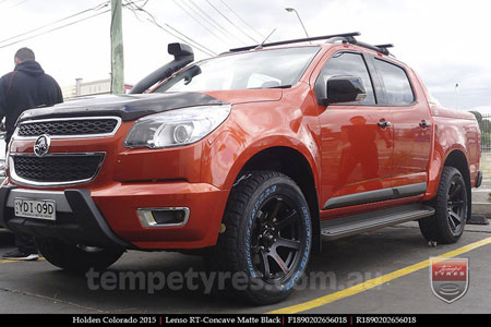 18x9.0 Lenso RT-Concave on HOLDEN COLORADO