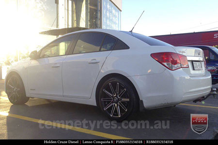 18x8.0 18x9.0 Lenso Conquista 8 CQ8 on HOLDEN CRUZE DIESEL