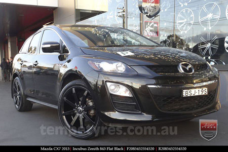20x8.5 Incubus Zenith - FB on MAZDA CX7